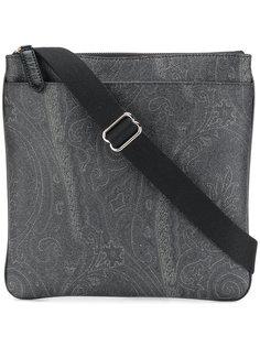 сумка-мессенджер с узором пейсли Etro