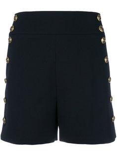 приталенные шорты с декоративными пуговицами Chloé