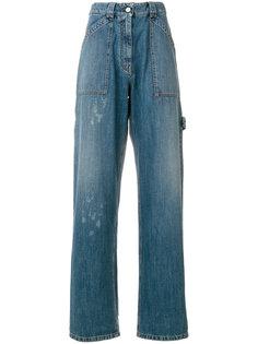широкие джинсы Valentino