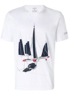 футболка с принтом Z Zegna