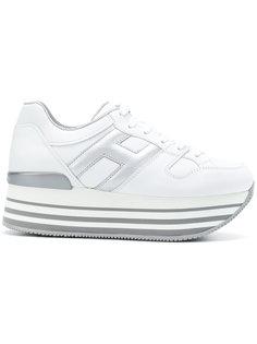 кроссовки на платформе Hogan