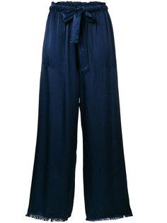 атласные брюки Raquel Allegra