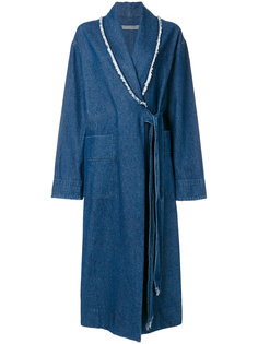 denim duster jacket Raquel Allegra