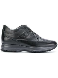 кроссовки на шнуровке Hogan