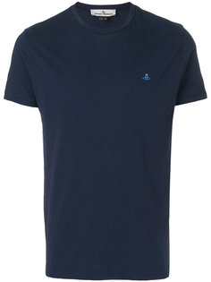 logo embroidered T-shirt Vivienne Westwood Man