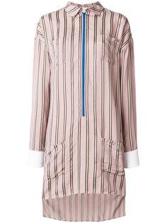 платье-рубашка с полосатым узором Esteban Cortazar