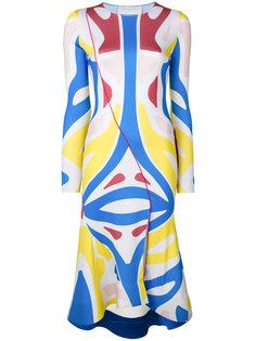 Surf colour-block dress Esteban Cortazar