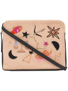 patch clutch bag Lizzie Fortunato Jewels