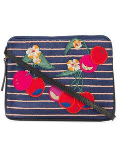 cherry patch clutch bag Lizzie Fortunato Jewels