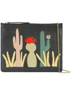 cactus patch clutch bag Lizzie Fortunato Jewels