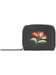 кошелек с вышивкой цветка Lizzie Fortunato Jewels