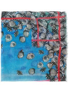 shell print  scarf Yigal Azrouel
