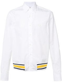 рубашка с контрастным подолом Loewe
