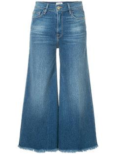 укороченные джинсы Le Palazzo Frame Denim