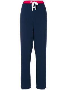 спортивные брюки с завышенной талией Tommy Hilfiger