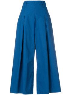 широкие укороченные брюки  Etro
