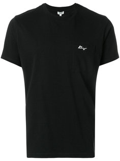 футболка Kenzo Signature с карманом Kenzo