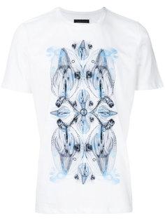 футболка с короткими рукавами с графическим принтом Frankie Morello