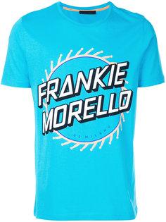 футболка с короткими рукавами с логотипом Frankie Morello