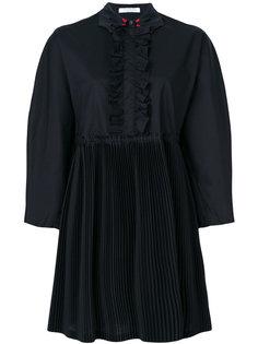 платье с фигурным воротником Vivetta