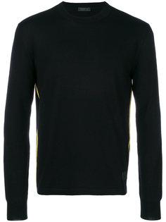 пуловер с панельным дизайном Prada