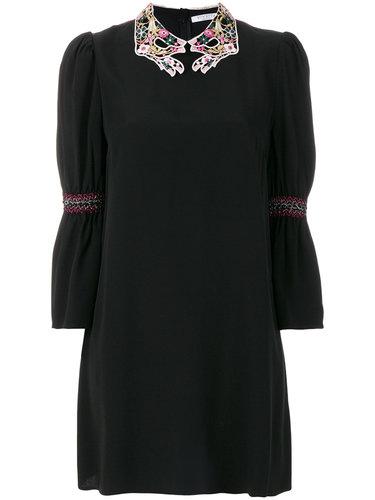 мини-платье с декорированным воротником Vivetta