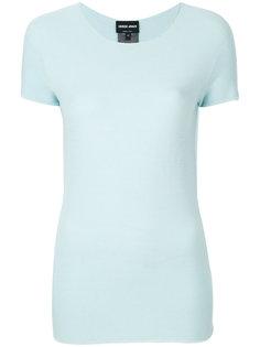 приталенная футболка  Giorgio Armani
