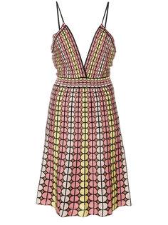 трикотажное платье с узором  M Missoni