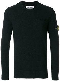 свитер с нагрудным карманом Stone Island