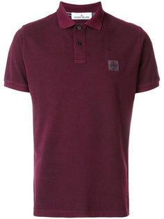 рубашка-поло с заплаткой с логотипом Stone Island