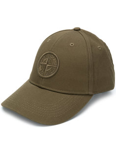 кепка с вышивкой логотипа Stone Island