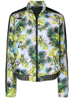 куртка-бомбер с пальмами Versace