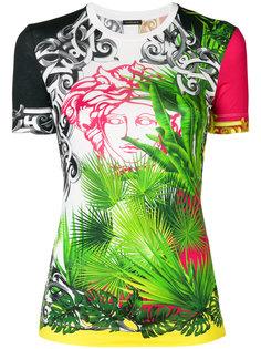 футболка Medusa с пальмами Versace