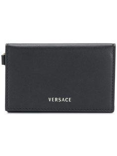 кошелек для карт с откидным клапаном Versace