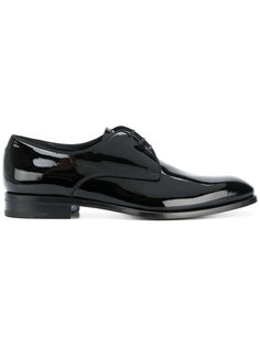 лакированные туфли со шнуровкой Salvatore Ferragamo