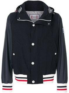 университетская куртка-бомбер Moncler Gamme Bleu