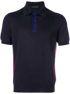 рубашка-поло с короткими рукавами Prada