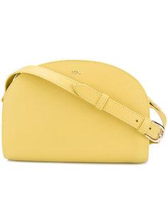 сумка через плечо с логотипом A.P.C.