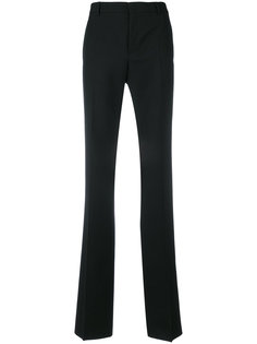 расклешенные классические брюки Saint Laurent