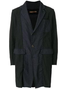 приталенное однобортное пальто  Uma Wang
