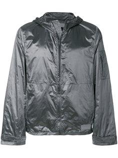 куртка-ветровка с капюшоном Prada