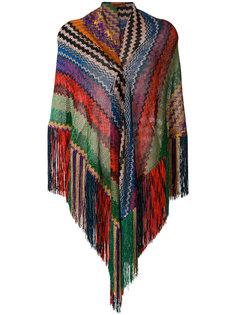 шарф с бахромой Missoni