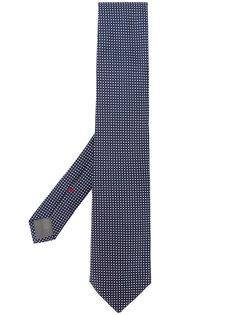 галстук с узором в горох Delloglio