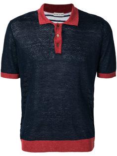 рубашка-поло дизайна колор-блок Etro