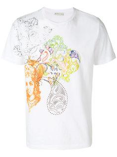 футболка с графическим  Etro
