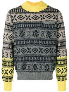 свитер с нагрудным карманом Sacai