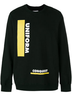 толстовка uniform conquest Sacai