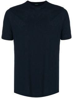 классическая приталенная футболка  Zanone