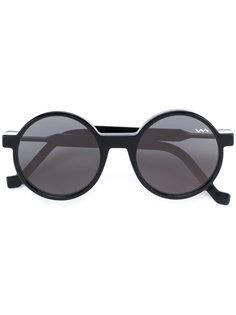 солнцезащитные очки в круглой оправе Vava