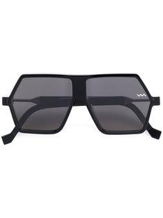 солнцезащитные очки в геометрической оправе Vava